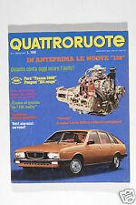 RIVISTA - QUATTRORUOTE - APRILE 1976