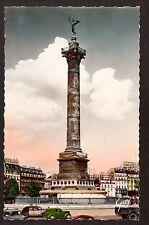 c1938 GUY real photo Place de Bastille & Colonne Juillet Paris France postcard