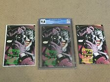 Batman: The Killing Joke CGC 9.8 White Pages w 2 Extra VF Copies