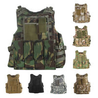 UltraGuards Tactical Air soft Paintball MOLLE Plate Carrier Combat Play Vest