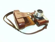 Werra Caméra Karl Zeiss Jena um 1955 Housse en cuir 2,8/50 mm