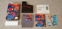 Rally Bike Nintendo NES Game Romstar Complete CIB Box Inserts Instruction Manual