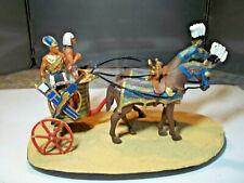 SCÈNES DE L'ÉGYPTE ANCIENNE. LE PHARAON SUR SON CHAR DE GUERRE.  Coll. Del Prado