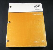 CASE 688 Crawler Excavator Parts Manual Catalog Book From PIN 11601 & After OEM