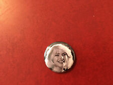 Blondie button pin badge black and white Heart of Glass photo shoot Debbie Harry
