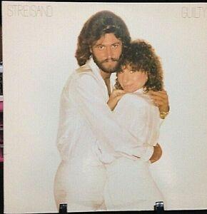 BARBRA STREISAND Guilty Album Released 1980 Vinyl/Record Collection US pressed