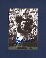 Paul Hornung signed Green Bay Packers NFL Legends football card