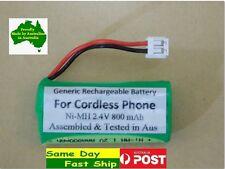 Generic 2.4V 800mAh Ni-MH battery for TELSTRA cordless phone V850 V850A V950A AU