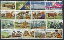 9253083 Transkei 1a X-17a X Fine Used / Cance complete Issue South Africa