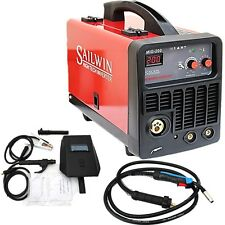 200A MIG/MMA 2 IN I PORTABLE DC INVERTER WELDER  WIRE Ø0.6/0.8/1.0 + ACCESSORIES