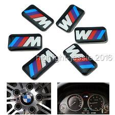 10 Stk. Felgen Tacho Lenkrad Aufkleber 3D Emblem Auto Sticker für BMW M3 M5 M6