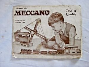 Hornby Dublo / Meccano / Dinky Toys Brochure - Sept 1952