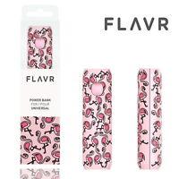 Flavr Rechrg-1 2600mAh Portable Emergency Powerbank Charger Flamingo