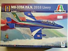 Italeri 1:72 Scale MB-339A P.A.N. 2016 Livery Model Kit - New - Kit # 1380