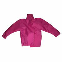 Vintage Hot Pink Purple Label Mattel Barbie Doll Rain Jacket Windbreaker EUC