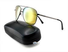 Von Zipper FARVA Aviator Sunglasses | CHI - Charcoal / Fire Chrome Lens