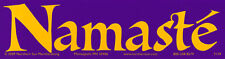 Namaste - Magnetic Bumper Sticker / Decal Magnet