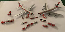 1:400 model airliners Aeroclassics British Eagle 707 & Britannia & GSE Set
