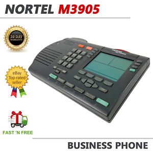 Nortel Meridian M3905 Professional Call Center Display Telephone Charcoal
