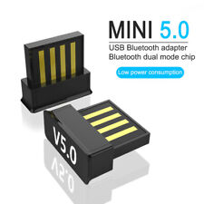 Bluetooth V5.0 Wireless Mini Dongle USB Adapter For Windows 7/8/10 PC Tablet