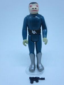 CUSTOM Vintage Blue Snaggletooth MOVABLE LIMBS Star Wars Figure