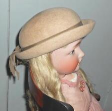"""Vintage Girl's Wool """"Madeline"""" Hat Cinderella New York Glenover Easter Church"""