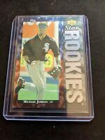1994 MICHAEL JORDAN #19 UPPER DECK STAR ROOKIES RC Rookie Baseball MINT