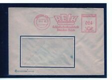 DDR carta remitente libre sello Dresden 13.3.52 Reik schleifscheibenfabrik
