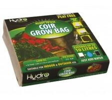 Hydro Coco Ready To Use 100% Peat Free Coir Grow Bag Soil Bag Expands To 10L