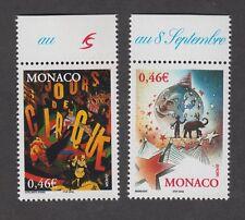 Timbres de Monaco neufs** Le Cirque - Europa - N° 2347 et 2348 - TB