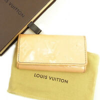 Louis Vuitton Key holder Key case Vernis Red Woman unisex Authentic Used Y7540