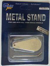 Gemini Jets Metal Stand for use with 1/400 scale model Aircraft.