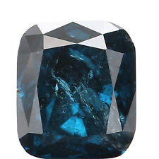 Natural Loose Diamond Cushion I2 Clarity Blue Color 3.90 MM 0.27 Ct L4388