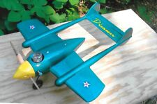 Dreamer Plans to Scratch-Build a Beautiful Early-Days-of-Uc Model Airplane