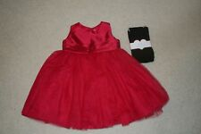 EUC! Toddler Girl 12 month red dress Easter holiday church party fancy dress