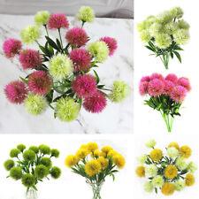 10Pcs Artificial Dandelion Flower Plant Floral Flowers Wedding Party Home Decor