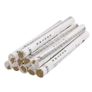 10pcs Chinese Traditional Moxa Roll Moxibustion Pain Relief Burner Therapy Stick