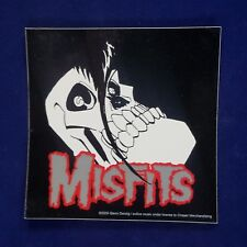 Misfits Devilock Skull Vinyl Sticker Decal - Horror Punk Rock - Fiend - Skulls