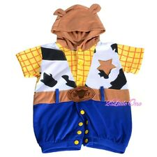 Woody Toy Story Halloween Fancy Party Costumes Jumpsuit Baby Boy Size 6-24m #035