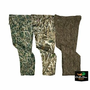 DRAKE WATERFOWL MST YOUTH WINDPROOF BONDED FLEECE LINDED PANTS