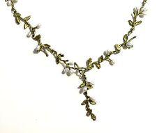 "Carolina Drop 16"" Adj. Necklace by Michael Michaud for Silver Seasons #7998"