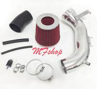 Red For 2008-2012 Honda Accord 2.4L L4 Air Intake Kit + Filter