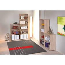 Etagère 5 tablettes bibliothèque meuble rangement salle de bain ou bureau CHÊNE