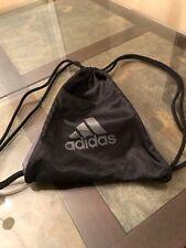 Adidas Sack Pack Rope Backpack Black And Grey