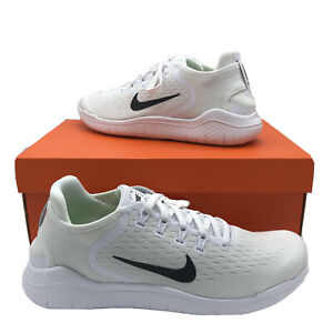 Nike Free RN 2018 'White Black' Men's Running Shoe 942836-100 Sz 7-13