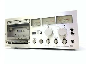 PIONEER CT-700 Stereo Cassette Deck Japan Vintage  1978 Working 220V Good Look