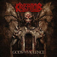"Kreator ‎– Gods Of Violence 2x 12"" Color Vinyl Gatefold New (2017) Metal"