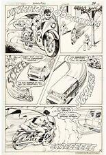 Kurt Schaffenberger Vince Colletta ROBIN Detective Comics 488 Pg 4 ORIGINAL ART