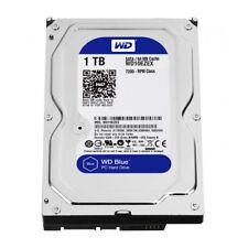 """interne Festplatte / HDD WD 8.9cm (3,5"""" Zoll ) 1TB SATA3 WD10EZEX 7200 64MB Blue"""
