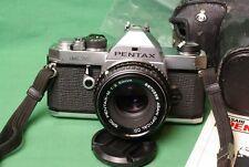 Pentax MX SLR 35mm Film Camera & Pentax-M 50mm f/2.0 lens. Nice